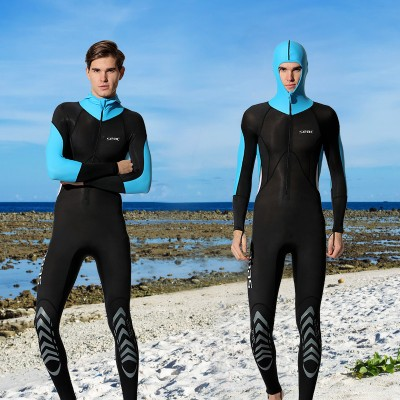 Men/'s Lycra Full Body Diving Suit Jump Surf Swim Free Dive Quick-drying Wetsuits