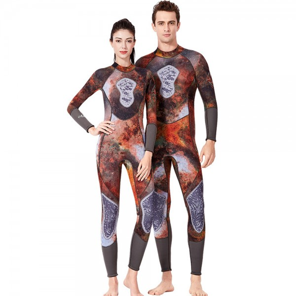 3MM Wetsuit Womens & Mens Wetsuits Diving Suit Full Body Wetsuit