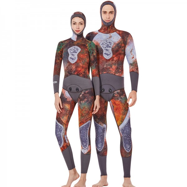 Mens Wetsuit & Diving Suit Women Full Body Wetsuit 3MM Wetsuit
