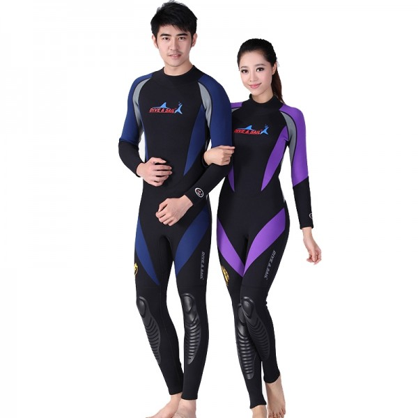 Wetsuit For Womens & Mens Cold Water Wetsuit Diving Suit 1.5MM