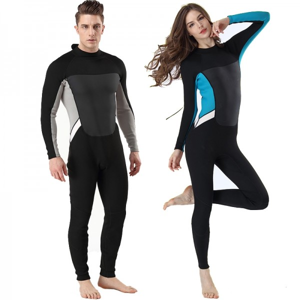 Full Body Wetsuit For Womens & Mens Diving Suit 2MM Wetsuit