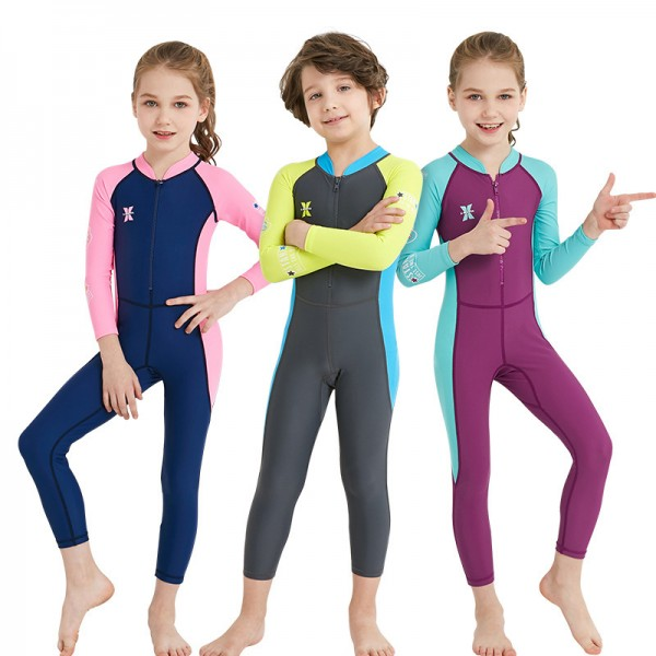 Boy & Girls' Rash Guard Dive Skin Suit Fast Dry Fullbody Wetsuit