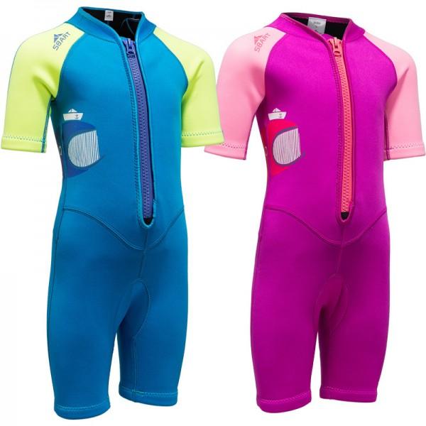 Kids Shorty Wetsuit 2MM Springsuit Swimwear for Boys & Girls