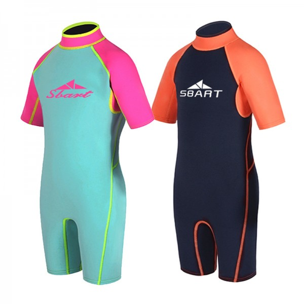 Kids Wetsuit 2MM Neoprene Thermal Swimsuit for Boys & Girls