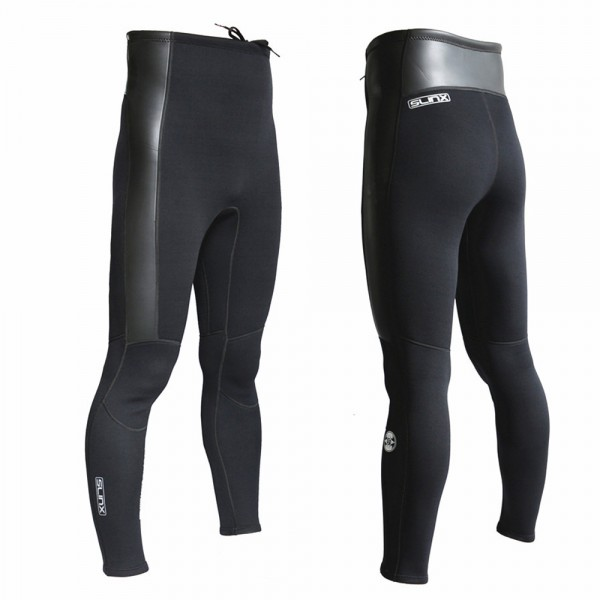 High Waist Thickening Men's 2MM Neoprene Wetsuit Pants