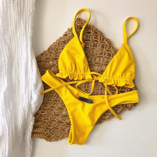 Cute Bikini Two Pieces Swimwear For Women