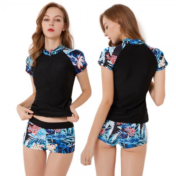 Women'S Two Piece Bathing Suits Swimwear Set Rashguard