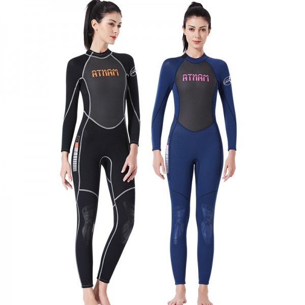 3MM SCR Wet Suit Full Womens Wetsuits Diving Suit