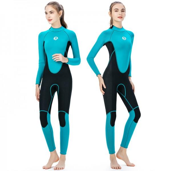 2MM Wetsuit Womens Wet Suit Diving Suit Ladies Wetsuit