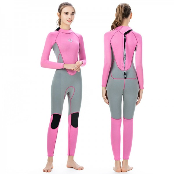 3MM Women Wetsuits Sale SCR Neoprene Diving Suit