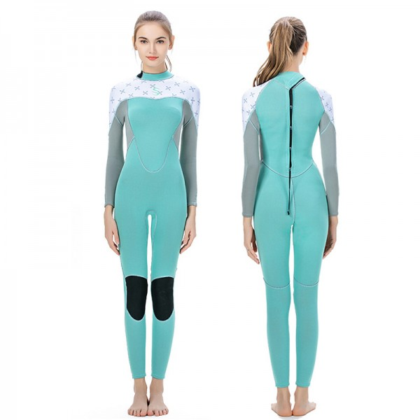 3MM Dive Suit Womens Wetsuits Full Body Wetsuit Neoprene Wetsuit