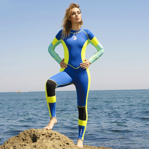 3mm Wet Suit Neoprene Womens Full Wetsuits Diving Suit