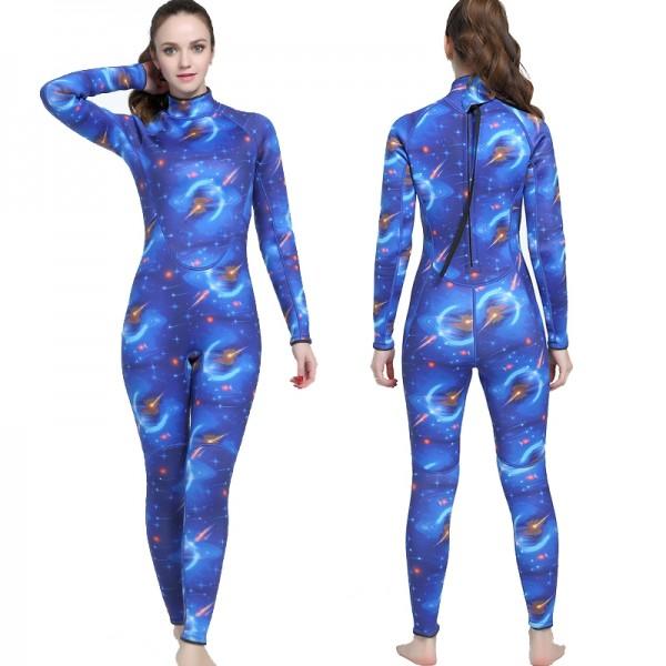 3MM Diving Suit Womens Wetsuits SCR Neoprene Wet Suit