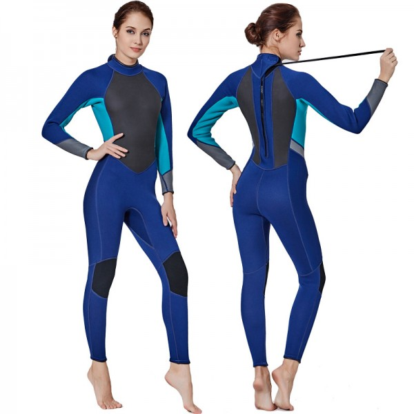 3MM SCR Neoprene Womens Wetsuits Diving Suit Winter Wetsuit
