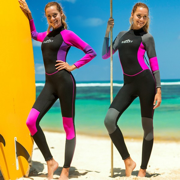 3MM Wetsuit Cold Water Wetsuit Womens Wetsuit Diving Suit