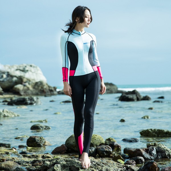 Swimming Wetsuits Rash Guard UPF 50+ Womens Surf Suit