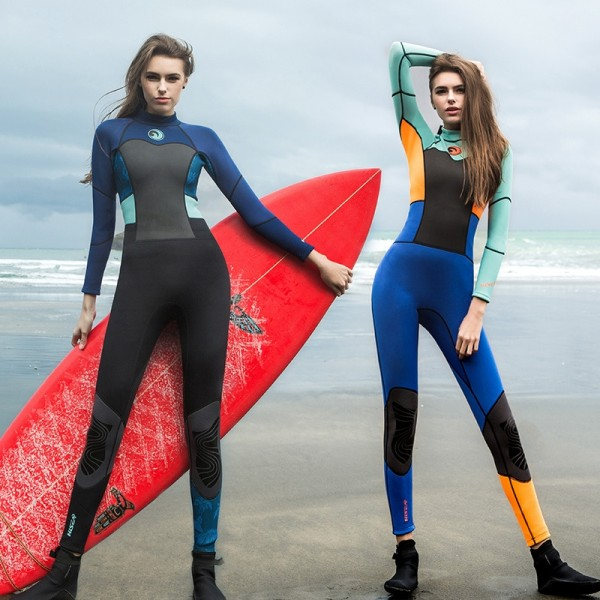 1.5MM  Womens Wetsuits Surfing Suit for Swimming