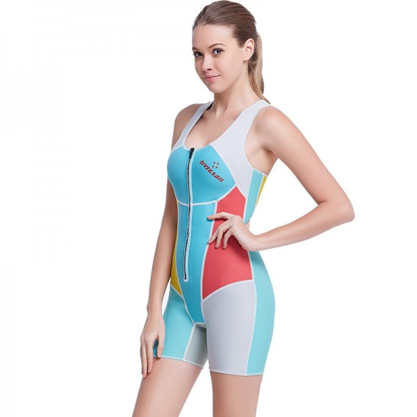 1.5MM Wetsuit Womens Wetsuit Shorty Wetsuit Diving Wetsuit Anti-UV
