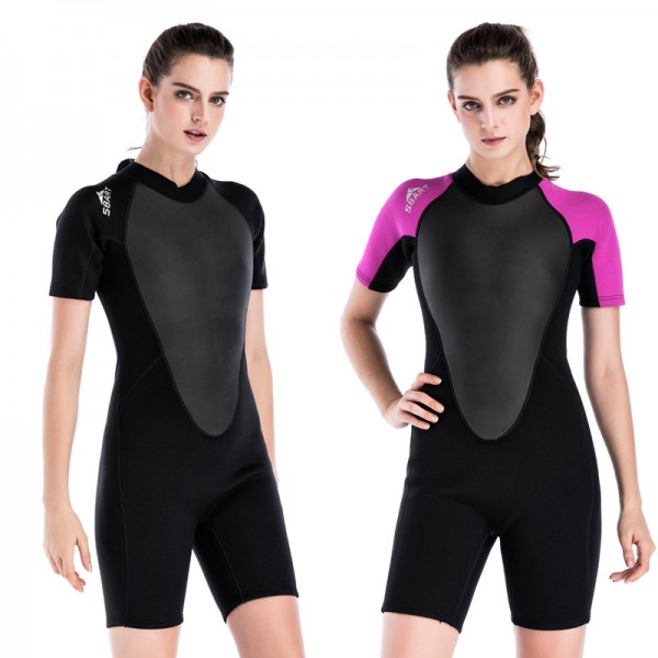 2MM Shorty Wetsuit Wetsuit Womens Wetsuit Spring Wetsuit Womens