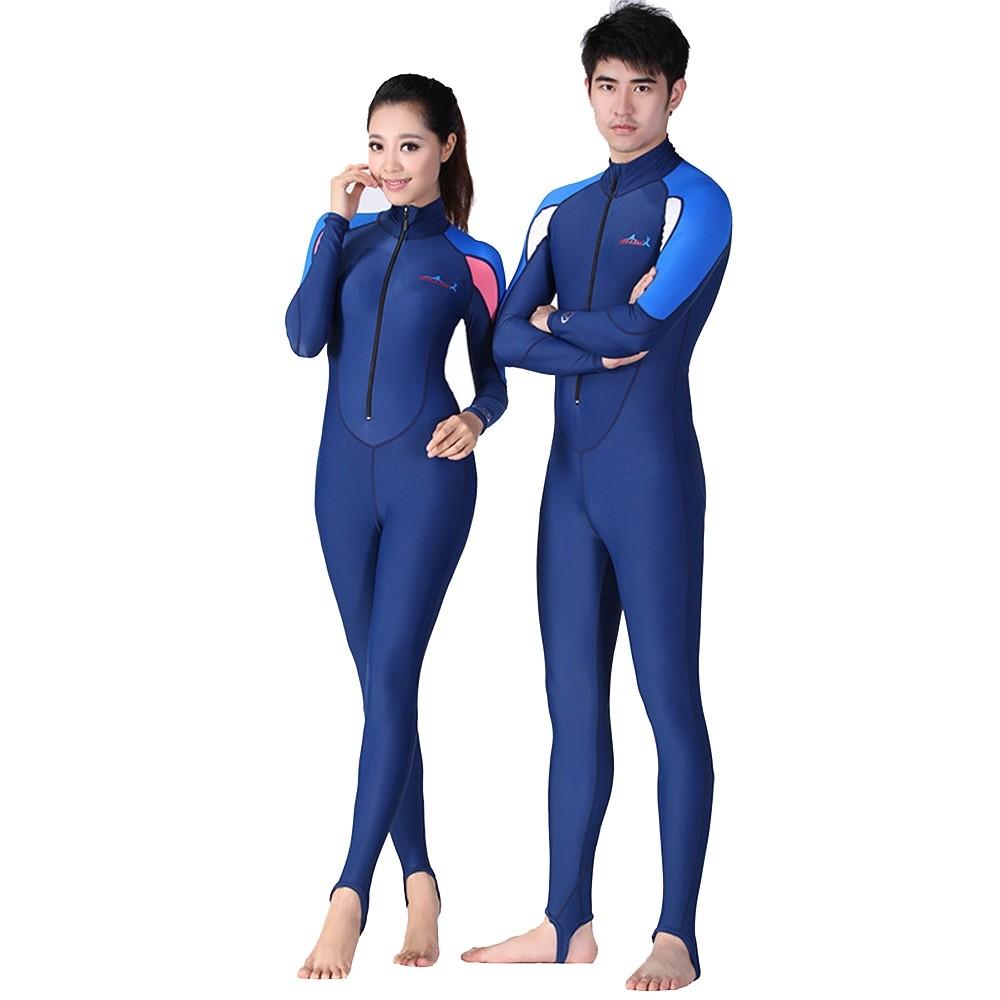 Upf50 Wetsuit 1mm Long Swimming Suits for Women Men Windsurf Lycra Dive Surf Wet Suit Diving Surfing Wetsuits Swim